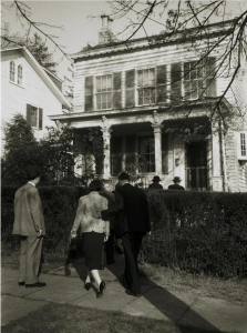 Einstein's home in Princeton, April 18, 1955. Photo: Ralph Morse, Time & Life Pictures, Getty Images.